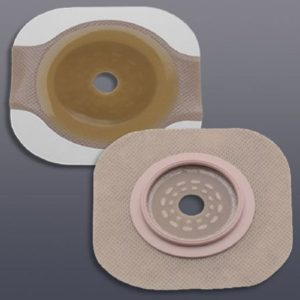 New Image 2-Piece Cut-to-Fit Flextend (Extended Wear) Skin Barrier 2-1/4″ Stoma Size, 2-3/4″ Flange
