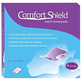 Home Aide Comfort Shield Adult Underpads
