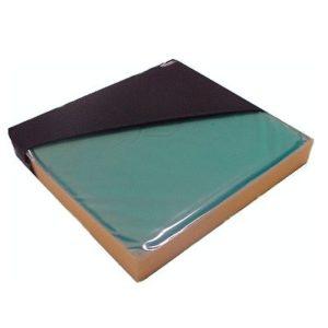 CMP Gel Gel-Foam Wheelchair Cushion with Strap 18inx16in