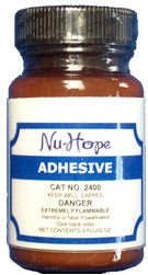 Nu-Hope Adhesive with Applicator 2 oz. Bottle