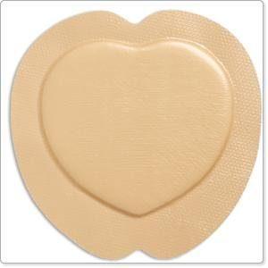 Mepilex Border Sacrum Self-Adherent Soft Silicone Foam Dressing 7-1/5″ x 7-1/5″