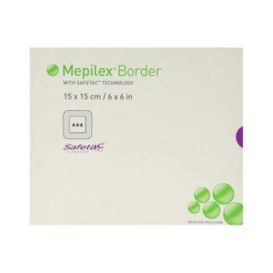 Mepilex Border Self-Adherent Foam Dressing 6″ x 6″