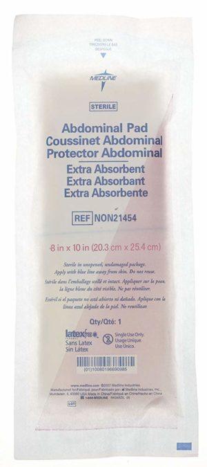 Curity Sterile Abdominal Pad 8″ x 10″