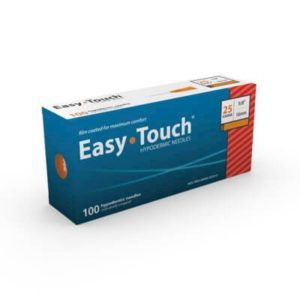 Easy Touch Hypodermic Needle 25g1inch