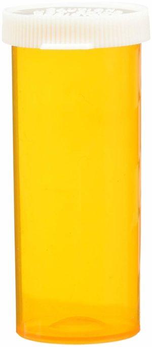 Colorsafe Snap Caps 8 Dram Amber 500/Case
