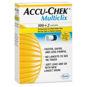 Accu-Chek Multiclix Lancet 102...