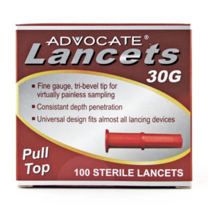 Advocate 30g Pull Top Lancet 1...
