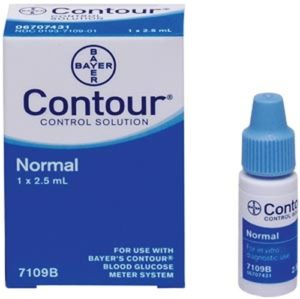 Ascensia Contour Control Solution Normal (7109)