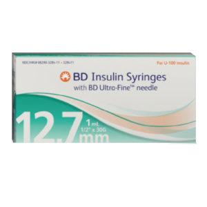 BD Insulin Syringe 30G...