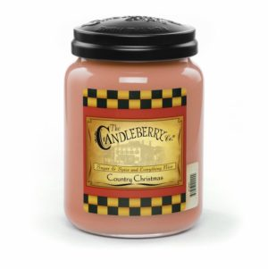 CandleBerry Country Christmas Candle 26oz Scented
