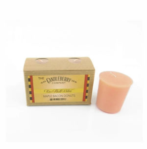 CandleBerry Maple Bacon Donut Candle Votive Candles