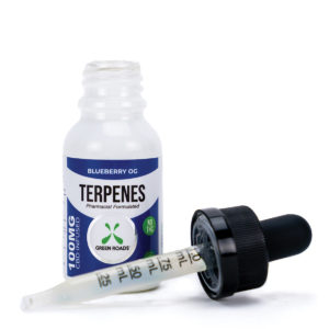 Green Roads CBD 100mg Blueberry OG Terpene Oil