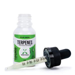 Green Roads 100mg Sour Diesel Terpene Oil