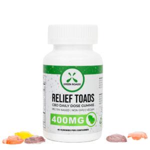 Green Roads 400mg Relief CBD Gummies 40 Day