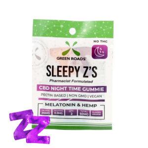 Green Roads 50mg Sleepyz 2ct Box of 10