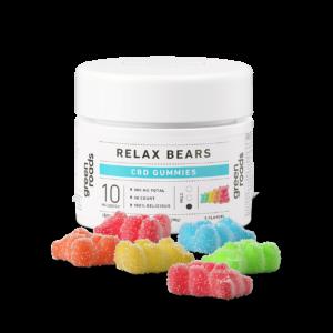 Green Roads CBD 300mg Relax Gummies