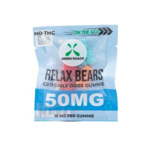Green Roads CBD 50mg Relax Bears On The Go