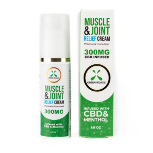 Green Roads CBD 300mg Muscle & Joint Relief Roll On Cream