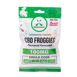 Green Roads CBD 100mg Froggies Edibles