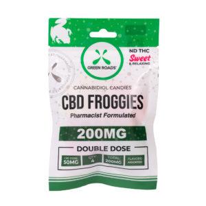 Green Roads 200mg Froggies Edibles