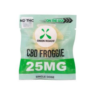 Green Roads CBD 25mg Froggies On The Go