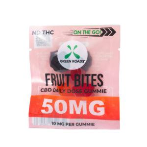 Green Roads 50mg Fruit Bites Gummies