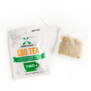 Green Roads 1 Day CBD Tea Box of 20