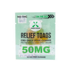 Green Roads 50mg Relief Toads