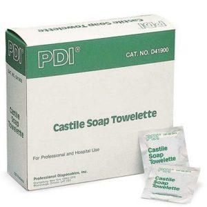 Castile Towelettes Box of 100...