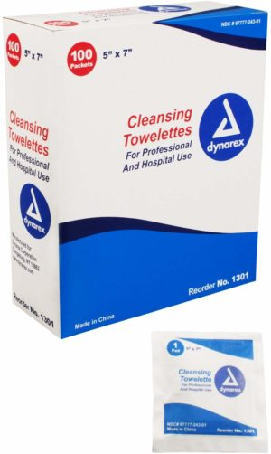 Cleansing Towelettes – 10/100/Cs