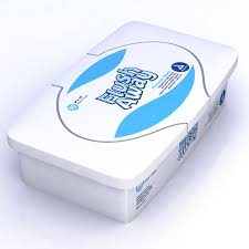 Dynarex Flushable Wipes 9×13 Adult Flow Pack 24/24cs