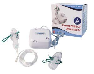 Dynarex Desktop Compressor Nebulizer with Adult and Ped Mask