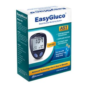 Easy Gluco Meter w/ Control Solution