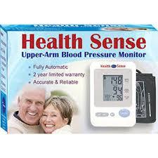 Health Sense Upper Arm Full-Auto Digital BP Monitor 8.6in – 14.2in