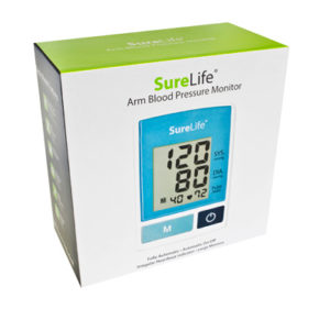 Easy Touch Upper Arm Sure Life  Automatic Digital BPM 860213