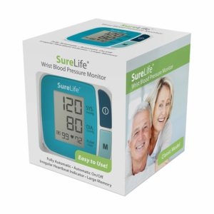 Easy Touch Wrist Sure Life  Automatic Digital BPM 860211