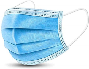 Disposable Face Mask 3Ply Ear-loop – Box of 50
