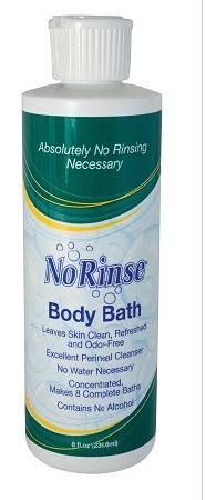 No Rinse Body Bath Concentrated Formula 8oz