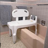 Probasic Bath Bench w/o Arms Aluminum Frame