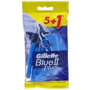 Gillette Blue 2 Plus Razors Pack of 6 razors