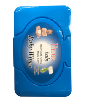 Baby Wipes 80ct Blue
