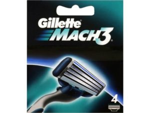 Gillette Mach 3 Razors Base (4pack)