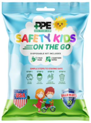 PPE On The Go Safety Kit (Kids)