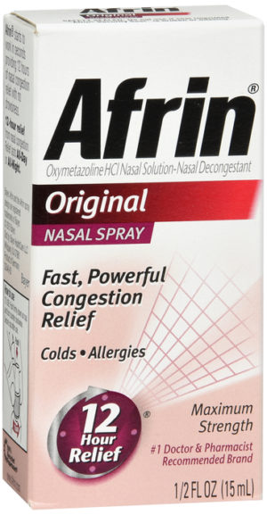 Afrin Original Spray 15ml