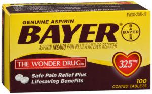 Aspirin Tabs 325mg 100ct