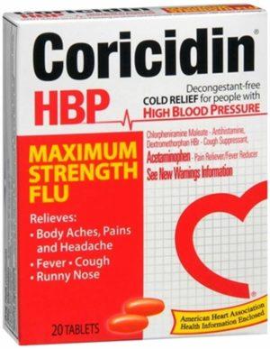 Coricidin HBP M...