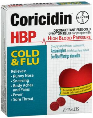 Coricidin HBP C...