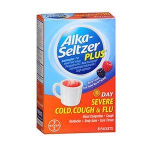 Alka Seltzer Sever Cold/Flu 6 Count