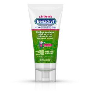 Benadryl Cooling Itching Gel for Kids