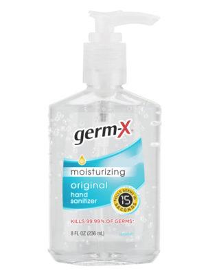 Germ-X 8oz 62% Hand Sanitizer Pump